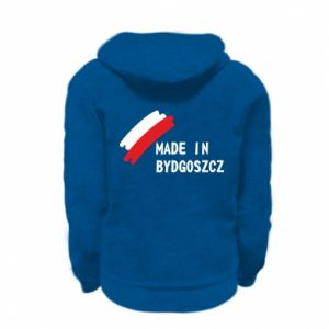 Kid's zipped hoodie % print% Made in Bydgoszcz