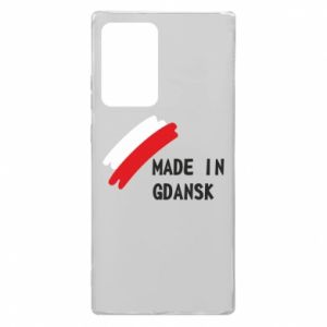 Samsung Note 20 Ultra Case Made in Gdansk