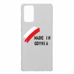 Samsung Note 20 Case Made in Gdynia