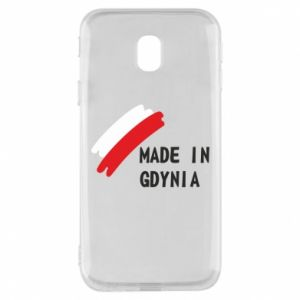 Phone case for Samsung J3 2017 Made in Gdynia