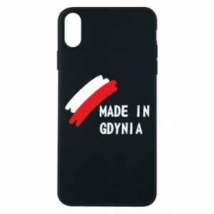 Etui na iPhone Xs Max Made in Gdynia