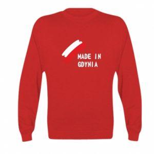 Kid's sweatshirt Made in Gdynia