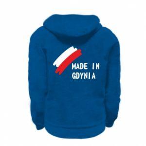 Bluza na zamek dziecięca Made in Gdynia