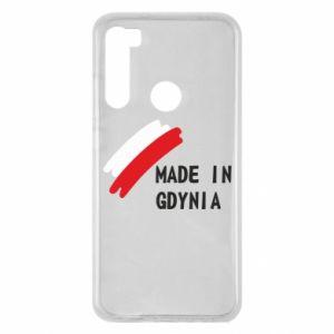 Etui na Xiaomi Redmi Note 8 Made in Gdynia