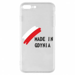 Phone case for iPhone 8 Plus Made in Gdynia