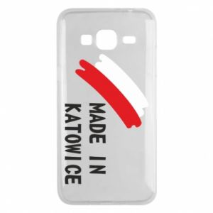 Phone case for Samsung J3 2016 Made in Katowice