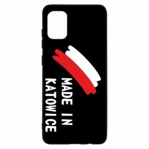 Samsung A31 Case Made in Katowice