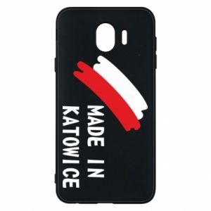 Phone case for Samsung J4 Made in Katowice
