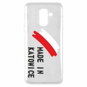 Phone case for Samsung A6+ 2018 Made in Katowice