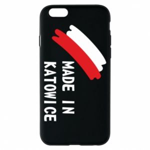 Phone case for iPhone 6/6S Made in Katowice