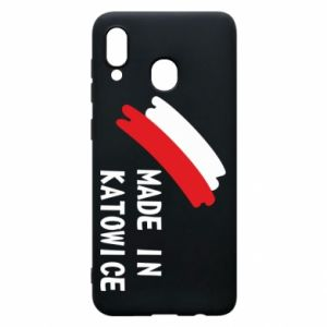 Phone case for Samsung A30 Made in Katowice