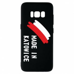 Phone case for Samsung S8 Made in Katowice