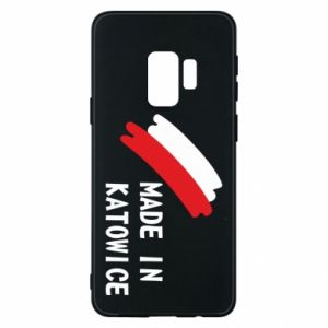 Phone case for Samsung S9 Made in Katowice