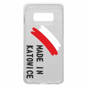 Phone case for Samsung S10e Made in Katowice