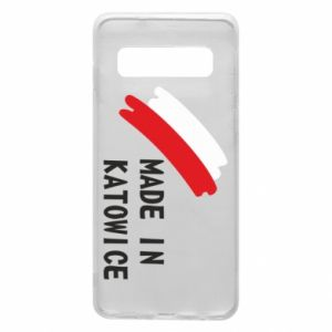 Phone case for Samsung S10 Made in Katowice