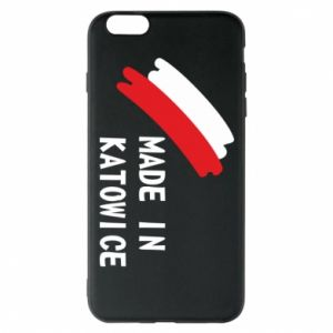 Phone case for iPhone 6 Plus/6S Plus Made in Katowice