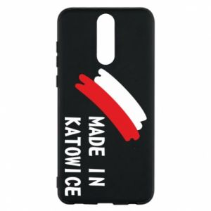 Phone case for Huawei Mate 10 Lite Made in Katowice