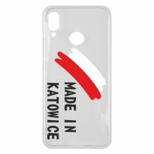 Phone case for Huawei P Smart Plus Made in Katowice