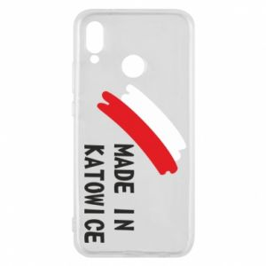 Phone case for Huawei P20 Lite Made in Katowice