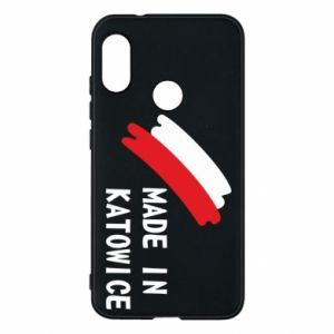Phone case for Mi A2 Lite Made in Katowice
