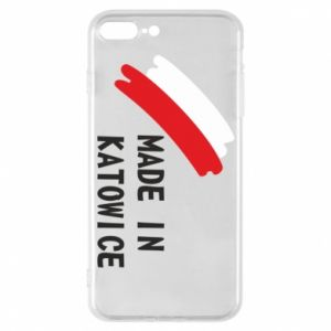 Phone case for iPhone 7 Plus Made in Katowice