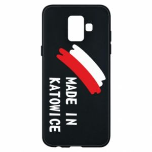 Phone case for Samsung A6 2018 Made in Katowice