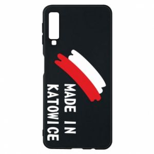 Phone case for Samsung A7 2018 Made in Katowice