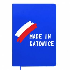 Notepad Made in Katowice