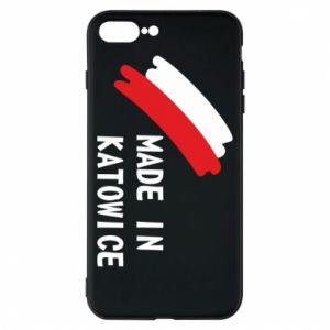 Phone case for iPhone 8 Plus Made in Katowice
