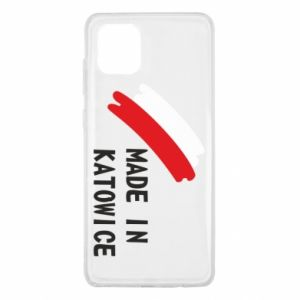 Etui na Samsung Note 10 Lite Made in Katowice