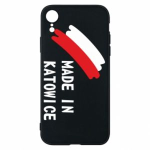 Phone case for iPhone XR Made in Katowice