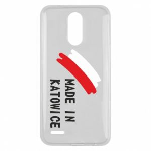 Lg K10 2017 Case Made in Katowice