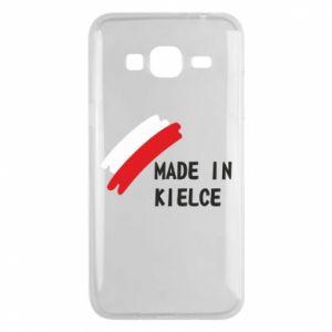 Phone case for Samsung J3 2016 Made in Kielce