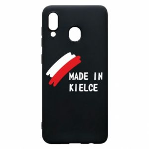 Phone case for Samsung A20 Made in Kielce