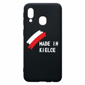 Phone case for Samsung A40 Made in Kielce