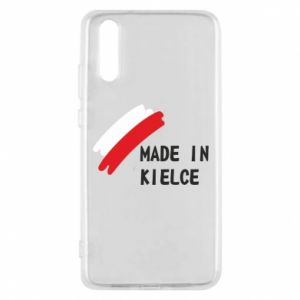 Phone case for Huawei P20 Made in Kielce