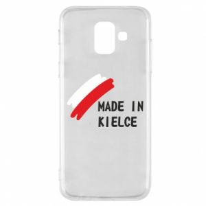 Phone case for Samsung A6 2018 Made in Kielce
