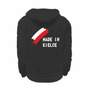 Kid's zipped hoodie % print% Made in Kielce