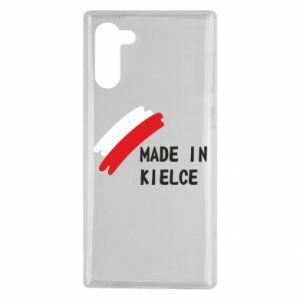 Samsung Note 10 Case Made in Kielce