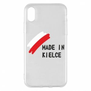 Phone case for iPhone X/Xs Made in Kielce