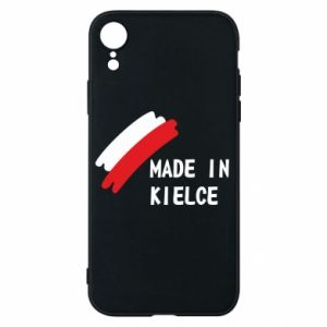 Phone case for iPhone XR Made in Kielce