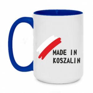 Kubek dwukolorowy 450ml Made in Koszalin