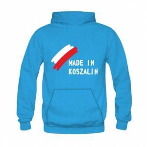Bluza z kapturem dziecięca Made in Koszalin