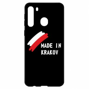 Samsung A21 Case Made in Krakow
