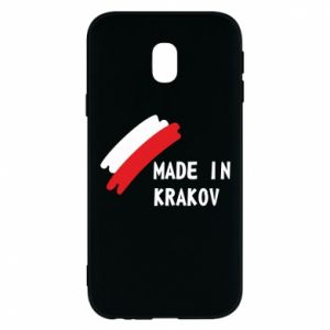 Samsung J3 2017 Case Made in Krakow