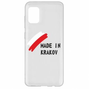 Samsung A31 Case Made in Krakow