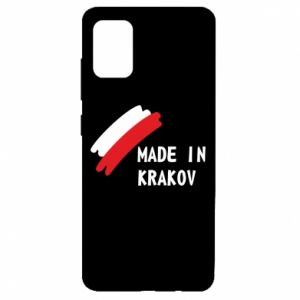 Samsung A51 Case Made in Krakow