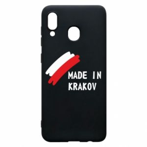 Samsung A20 Case Made in Krakow
