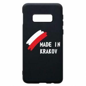 Samsung S10e Case Made in Krakow