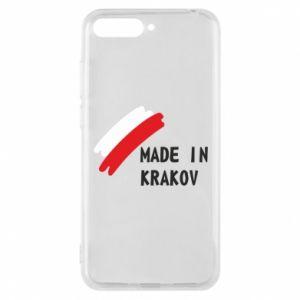 Huawei Y6 2018 Case Made in Krakow